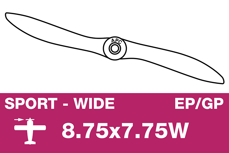 APC - Sport Propeller - EP/GP - 8.75X7.75W