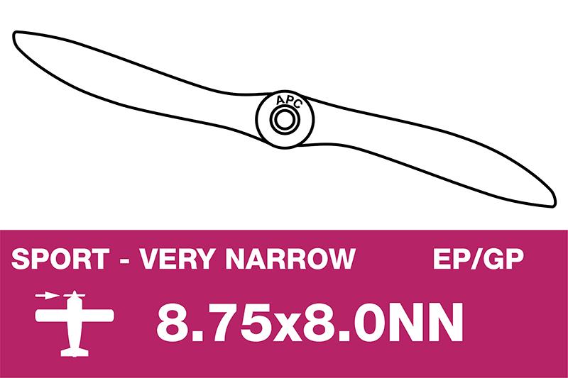 APC - Sport Propeller - Thin - EP/GP - 8.75X8.0NN