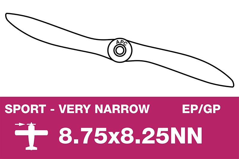 APC - Sport Propeller - Thin - EP/GP - 8.75X8.25NN