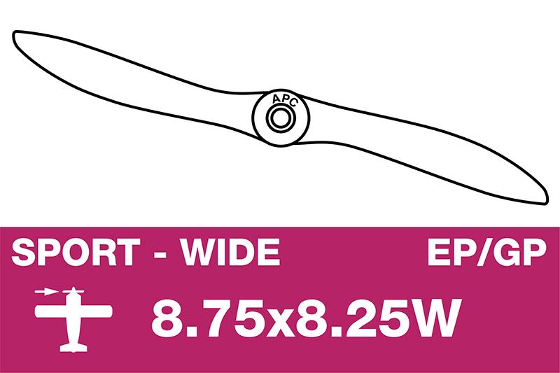 APC - Sport Propeller - EP/GP - 8.75X8.25W