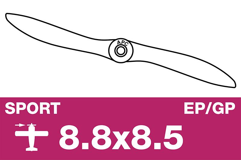 APC - Sport Propeller - EP/GP - 8.8X8.5