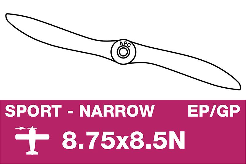APC - Sport Propeller - Thin - EP/GP - 8.75X8.5N