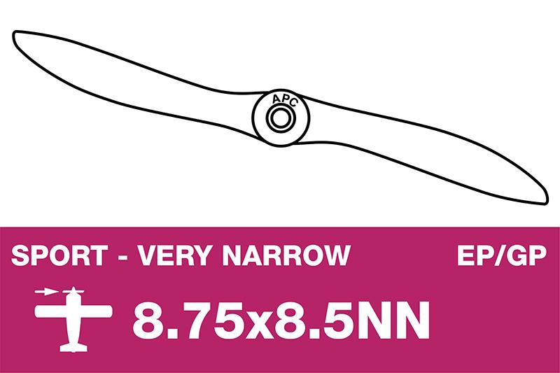 APC - Sport Propeller - Thin - EP/GP - 8.75X8.5NN