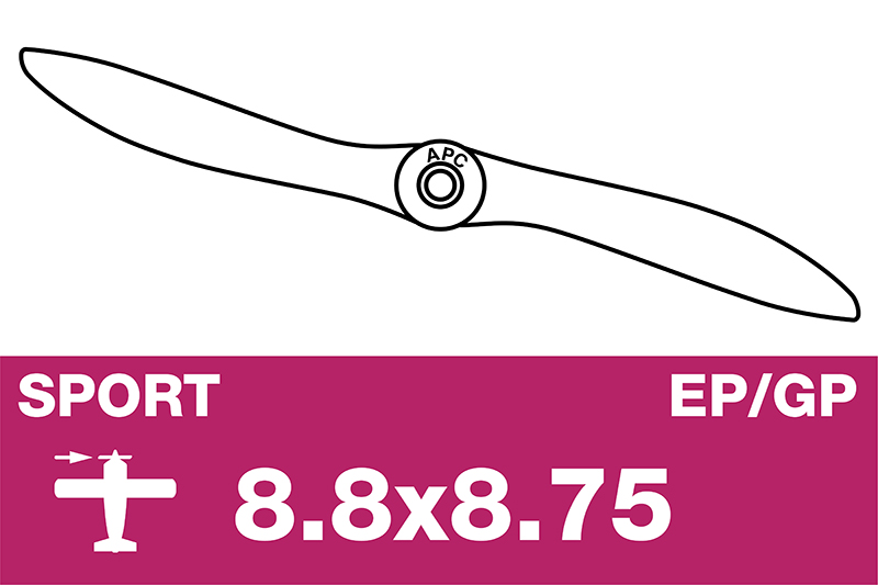 APC - Sport Propeller - EP/GP - 8.8X8.75