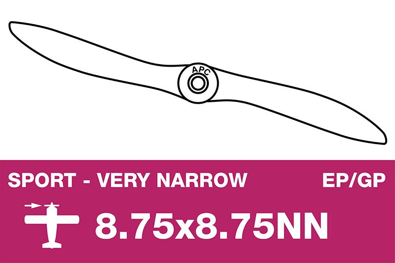 APC - Sport Propeller - Thin - EP/GP - 8.75X8.75NN