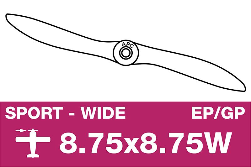APC - Sport Propeller - EP/GP - 8.75X8.75W