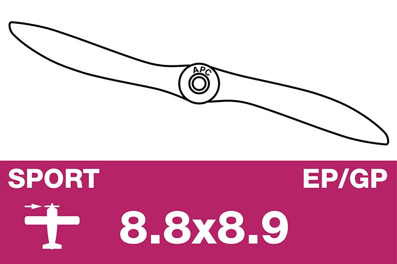 APC - Sport Propeller - EP/GP - 8.8X8.9