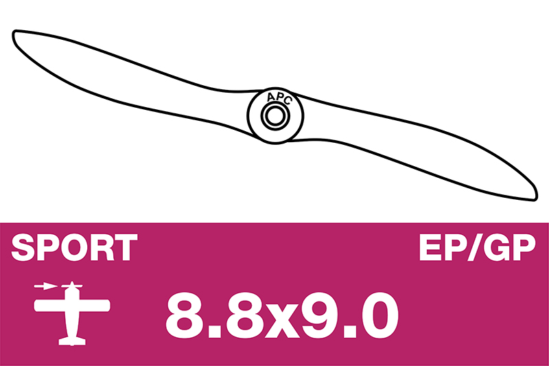 APC - Sport Propeller - EP/GP - 8.8X9.0