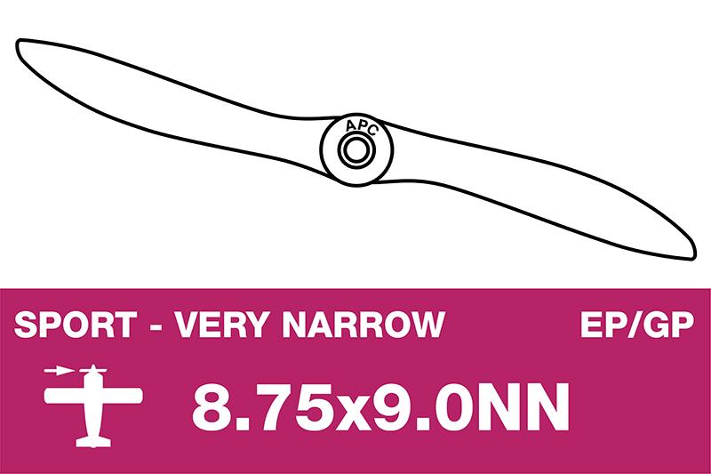 APC - Sport Propeller - Thin - EP/GP - 8.75X9.0NN