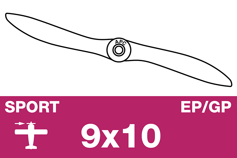 APC - Sport Propeller - EP/GP - 9X10