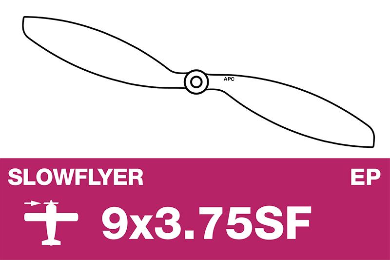 APC - SLOWFLYER Propeller - 9X3.7SF
