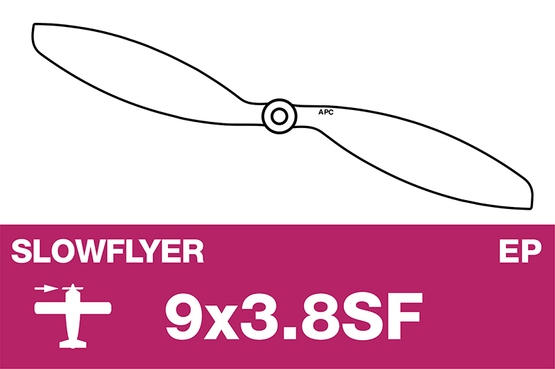 APC - SLOWFLYER Propeller - 9X3.8SF