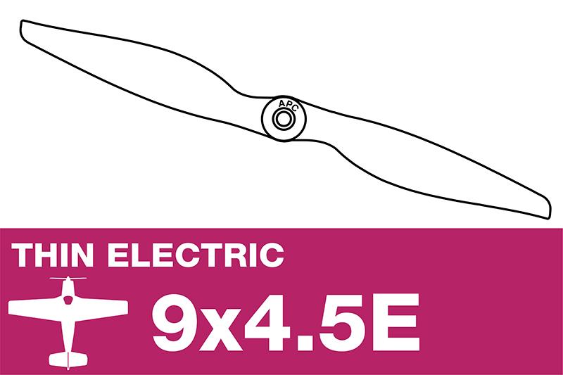 APC - Electro Propeller - Thin - 9X4.5E
