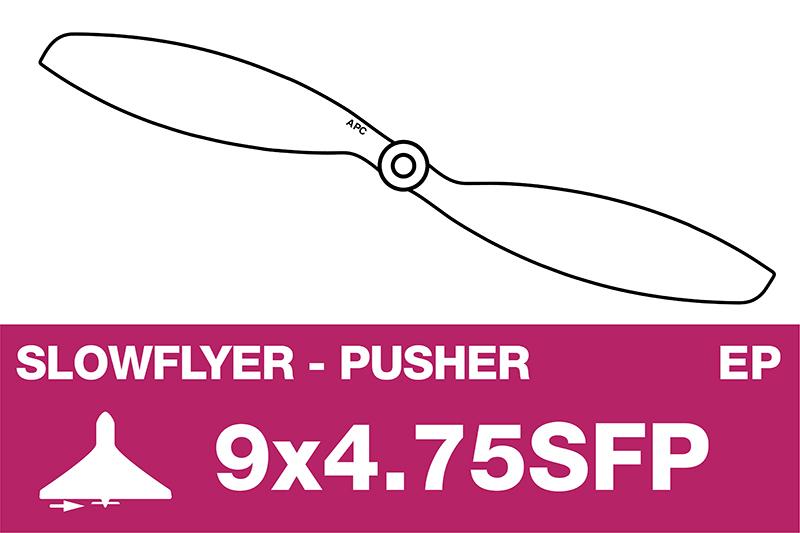 APC - SLOWFLYER Propeller - Pusher / CCW - 9X4.7SFP