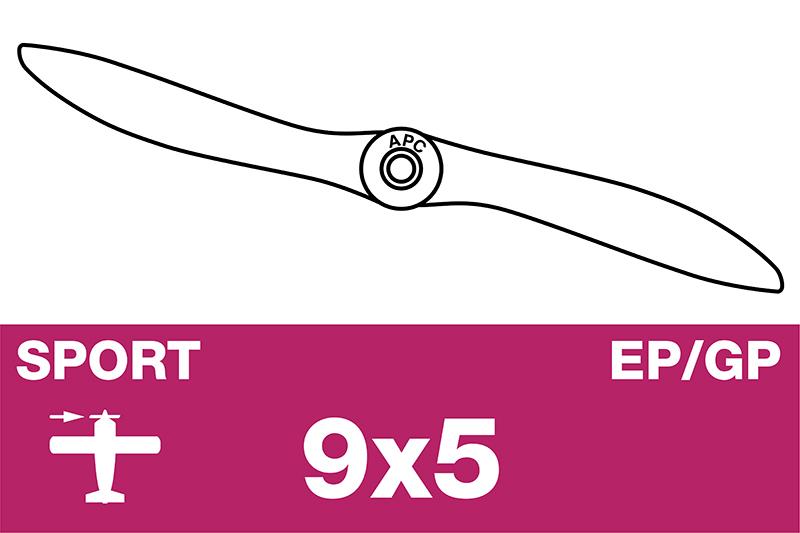 APC - Sport Propeller - EP/GP - 9X5