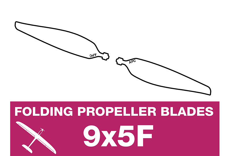 APC - Folding Electric Propeller Blades - 9X5F