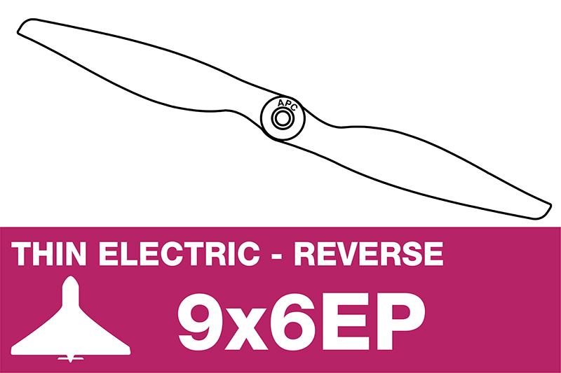 APC - Electro Propeller - Thin - Pusher / CCW - 9X6EP