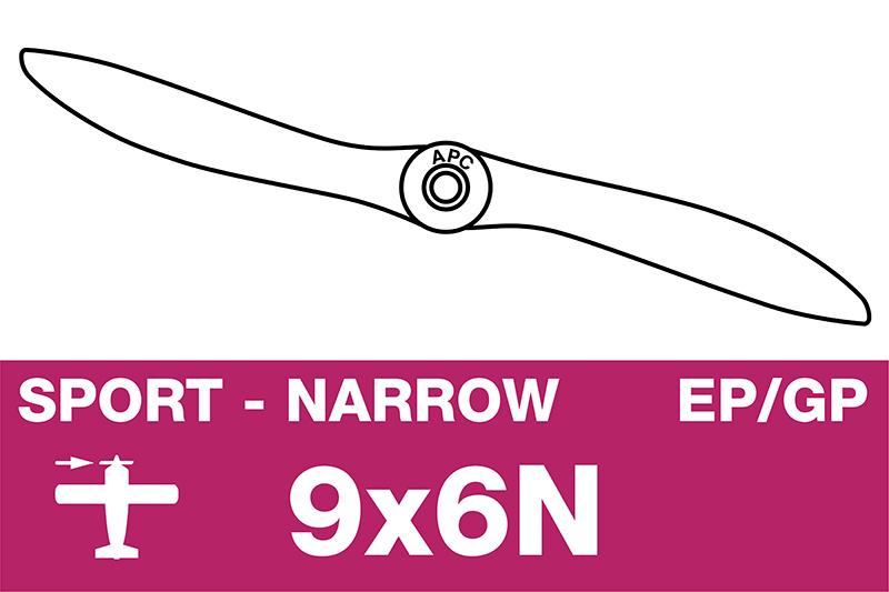 APC - Sport Propeller - Thin - EP/GP - 9X6N