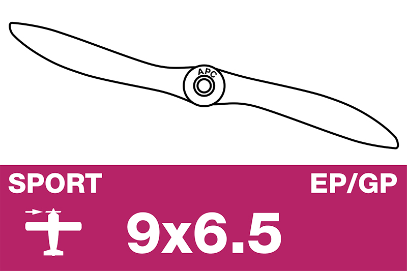 APC - Sport Propeller - EP/GP - 9X6.5