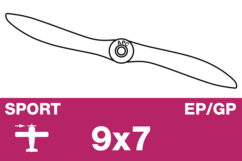 APC - Sport Propeller - EP/GP - 9X7