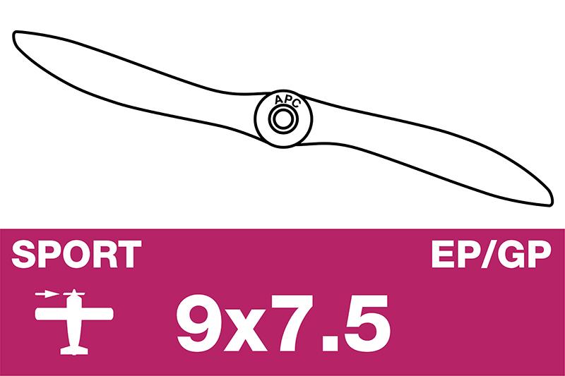 APC - Sport Propeller - EP/GP - 9X7.5