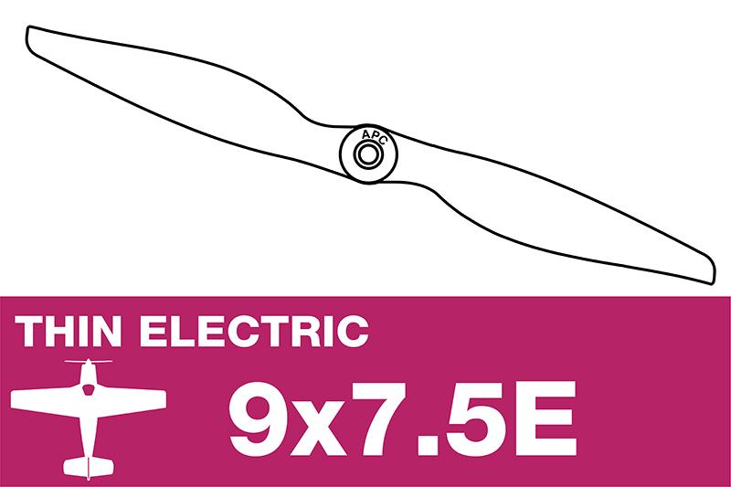 APC - Electro Propeller - Thin - 9X7.5E