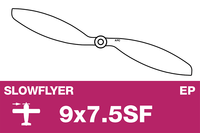 APC - SLOWFLYER Propeller - 9X7.5SF