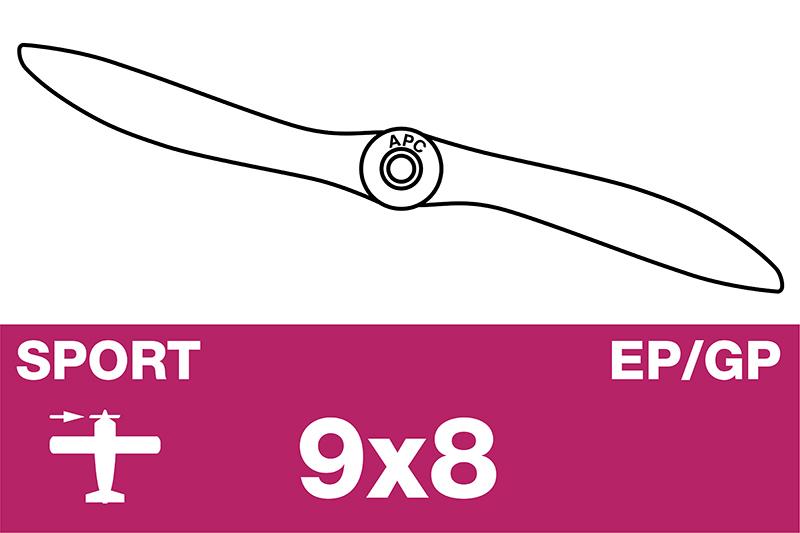 APC - Sport Propeller - EP/GP - 9X8