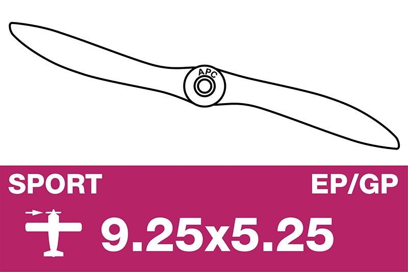 APC - Sport Propeller - EP/GP - 9.25X5.25