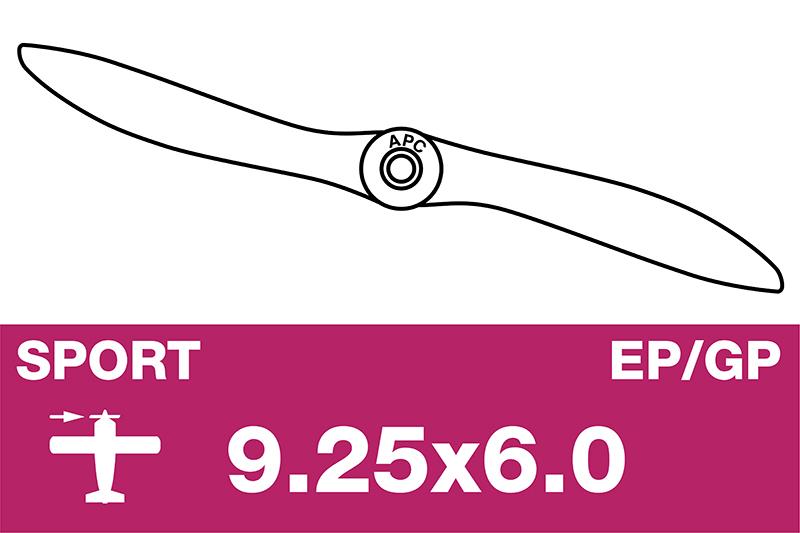 APC - Sport Propeller - EP/GP - 9.25X6.0
