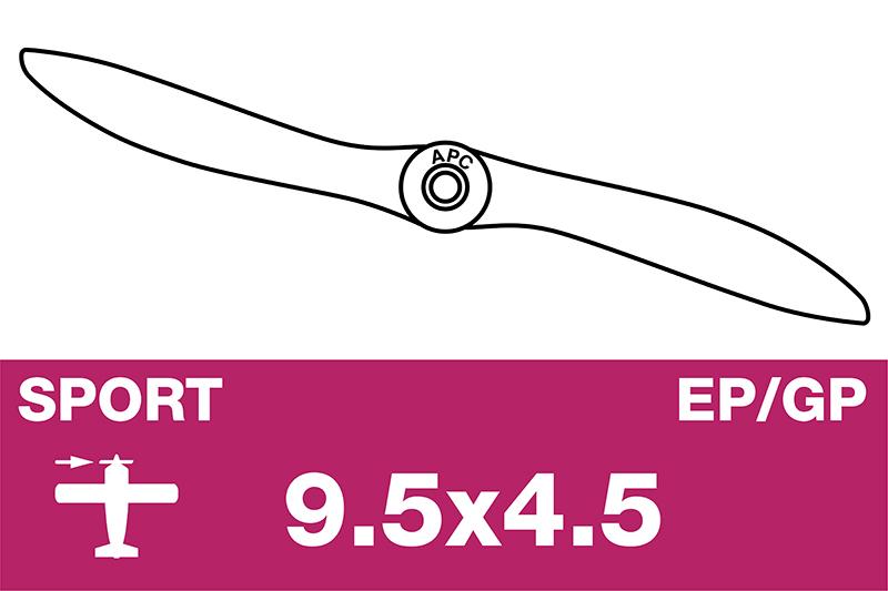 APC - Sport Propeller - EP/GP - 9.5X4.5