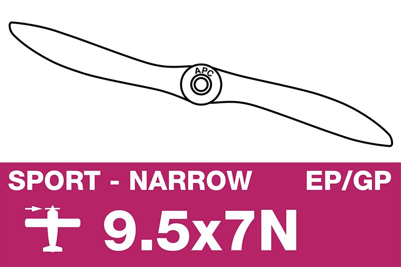 APC - Sport Propeller - Thin - EP/GP - 9.5X7N