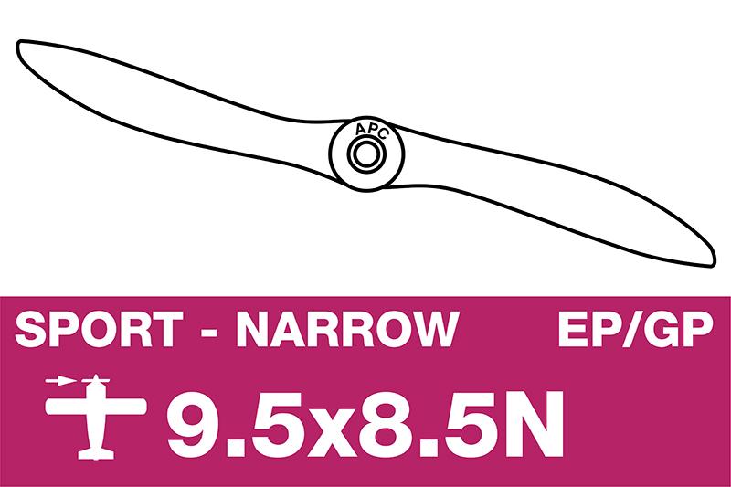 APC - Sport Propeller - Thin - EP/GP - 9.5X8.5N