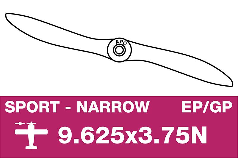 APC - Sport Propeller - Thin - EP/GP - 9.625X3.75N