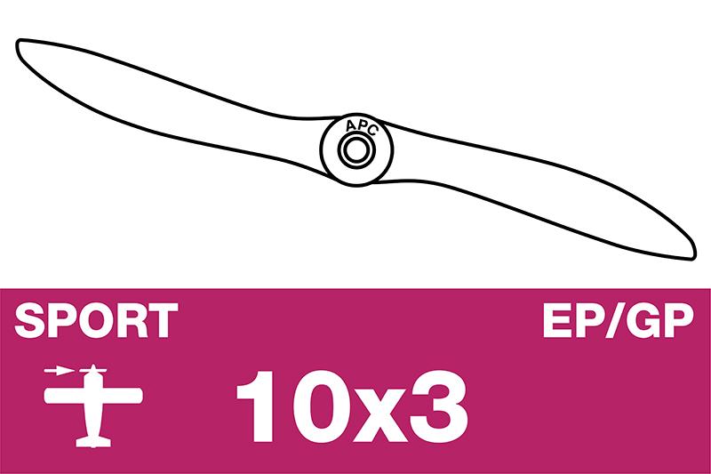APC - Sport Propeller - EP/GP - 10X3