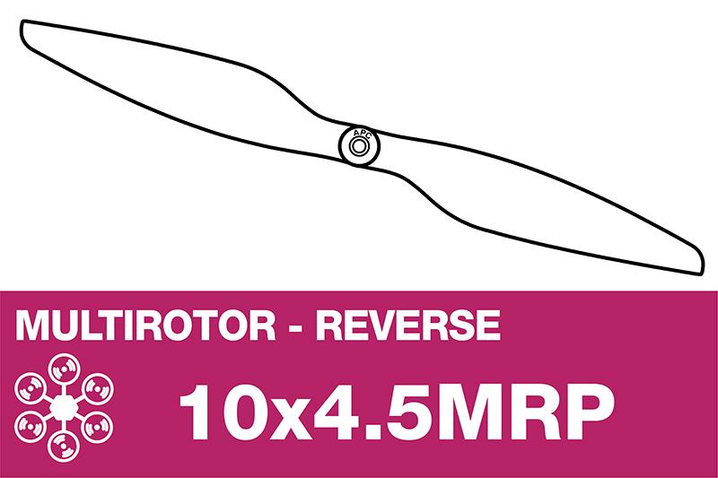 APC - MULTI ROTOR Propeller - Pusher / CCW - 10X4.5MRP