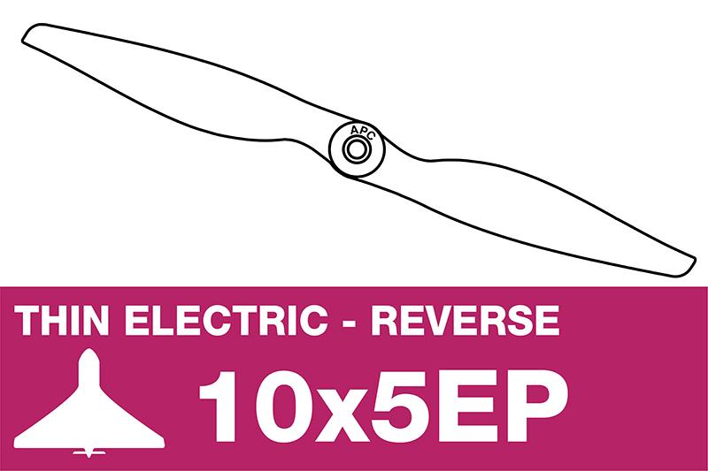 APC - Electro Propeller - Thin - Pusher / CCW - 10X5EP