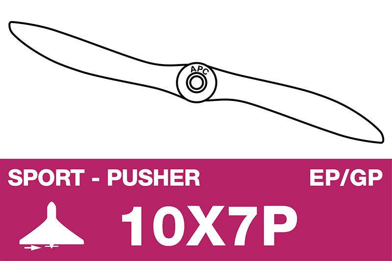 APC - Sport Propeller - Pusher / CCW - EP/GP - 10X7P