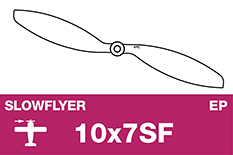 APC - SLOWFLYER Propeller - 10X7SF