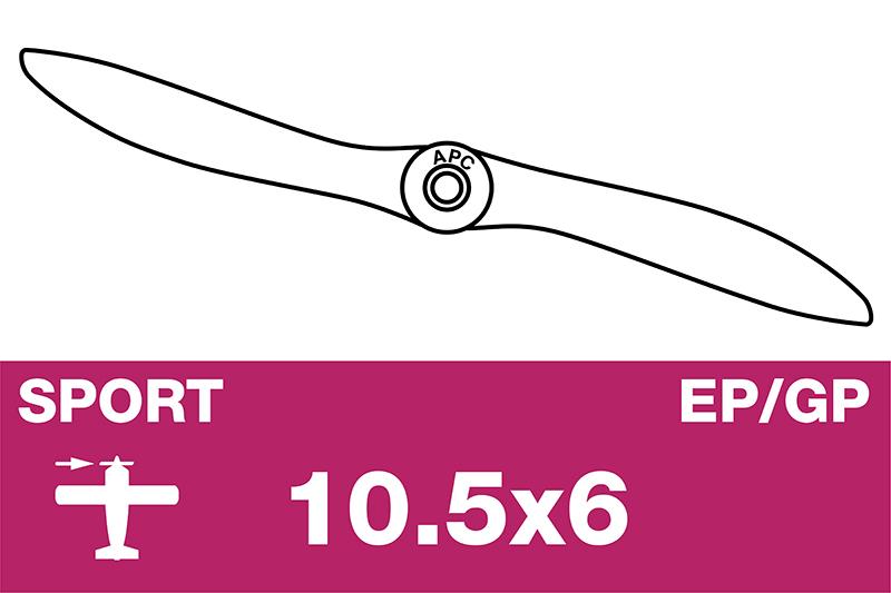 APC - Sport Propeller - EP/GP - 10.5X6