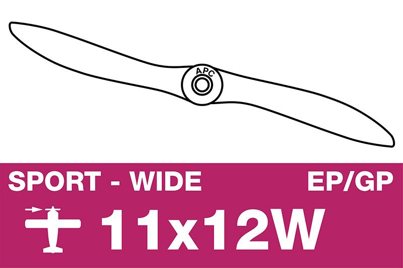 APC - Sport Propeller - EP/GP - 11X12W