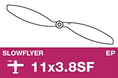 APC - SLOWFLYER Propeller - 11X3.8SF