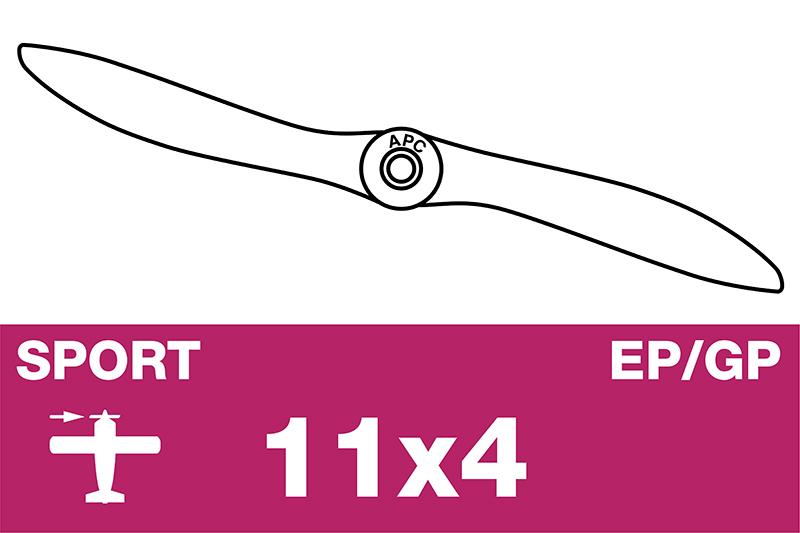 APC - Sport Propeller - EP/GP - 11X4