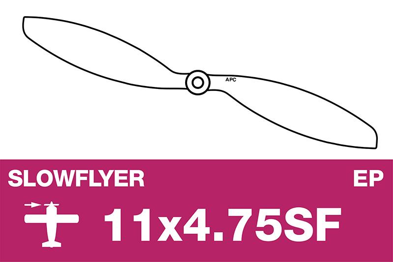 APC - SLOWFLYER Propeller - 11X4.7SF