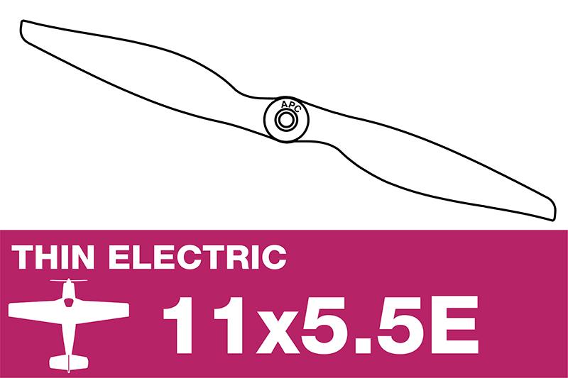 APC - Electro Propeller - Thin - 11X5.5E