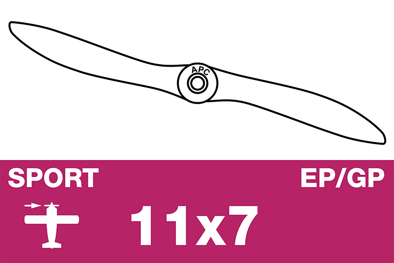 APC - Sport Propeller - EP/GP - 11X7
