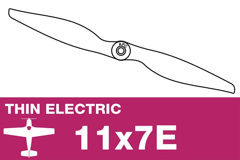 APC - Electro Propeller - Thin - 11X7E