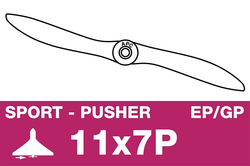 APC - Sport Propeller - Pusher / CCW - EP/GP - 11X7P