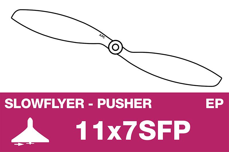 APC - SLOWFLYER Propeller - Pusher / CCW - 11X7SFP