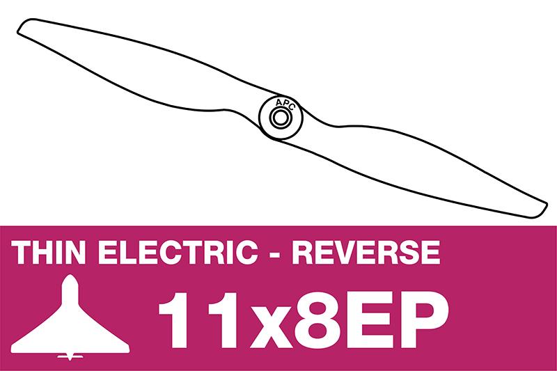 APC - Electro Propeller - Thin - Pusher / CCW - 11X8EP